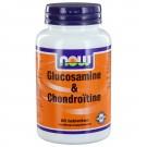 Glucosamine & Chondroïtine (60 tabletten) - Now Foods