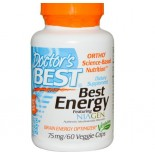 Doctor's Best, Best Energy featuring NIAGEN (60 vegetarian caps)