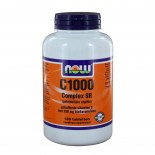C-1000 Complex SR Gebufferde C (180 tabs) - NOW Foods