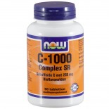 C-1000 Complex SR Gebufferde C (90 tabs) - NOW Foods