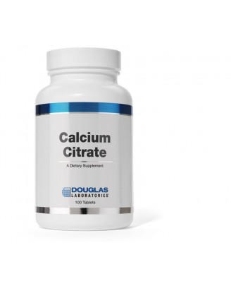Calciumcitraat - 100 tabletten - douglas laboratories