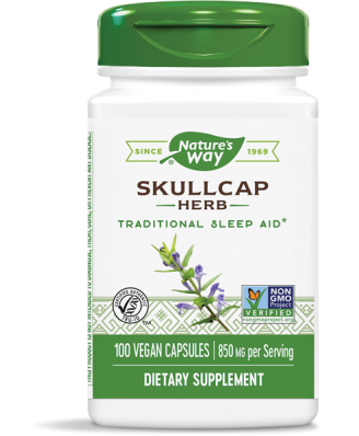 SCULLCAP kruid 425 mg (100 Capsules) - Nature's Way