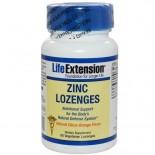 Life Extension, Zinc Lozenges, Natural Citrus-Orange Flavor, 60 Veggie Lozenges