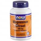 Magnesium Citraat 200 mg (100 tabletten) - Now Foods
