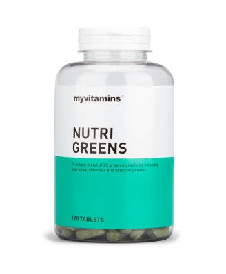Myvitamins Nutri-Greens, 360 Tablets (360 Tablets) - Myvitamins