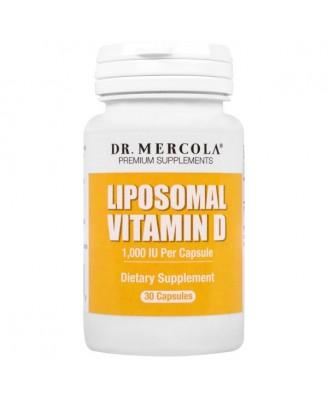 Liposomal Vitamin D - 1.000 IU (30 capsules) - Dr. Mercola