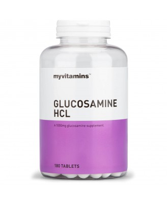 Myvitamins Glucosamine HCl, 60 Tablets (60 Tablets) - Myvitamins