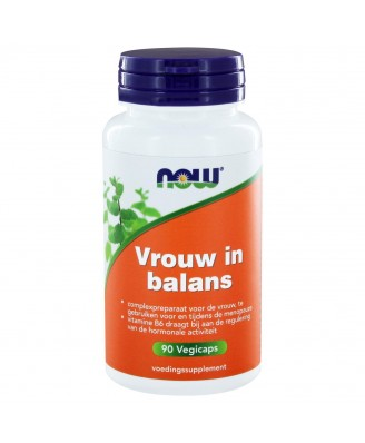 Vrouw in Balans (90 vegicaps) - NOW Foods