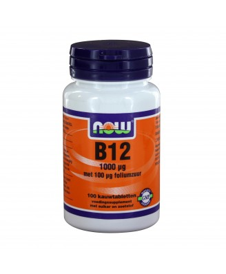 B12 1000 ?g (100 kauwtabs) - NOW Foods
