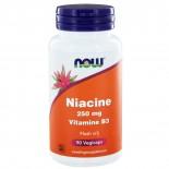 Niacine Flush vrij 250 mg (90 vegicaps) - NOW Foods