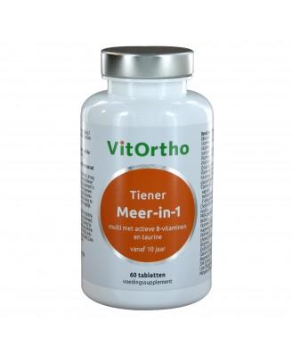 Meer-in-1 Tiener (60 tabs) - VitOrtho