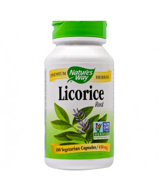 Licorice Root 450 mg (100 Capsules) - Nature's Way