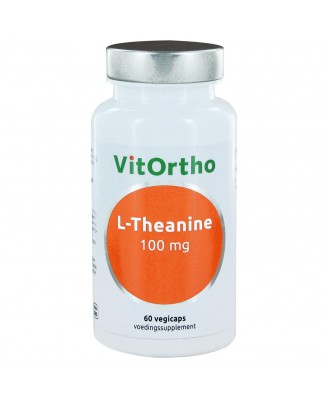 L-Theanine 100 mg (60 vegicaps) - VitOrtho
