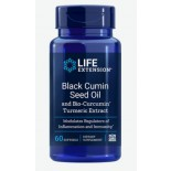 BLACK CUMIN SEED OIL WITH BIO-CURCUMIN (60 SOFTGELS) - LIFE EXTENSION