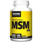 MSM 1000 mg (100 Vegetarian Capsules) - Jarrow Formulas