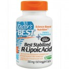 Doctor's Best, Best Stabilized R-Lipoic Acid, 100 mg, 60 Veggie Caps