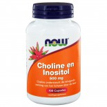 Choline en Inositol 500 mg (100 caps) - NOW Foods