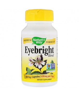 Nature's Way, Eyebright, 458 mg, 100 Capsules