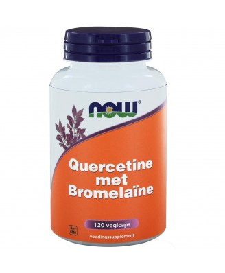 Quercetine met Bromelaïne (120 vegicaps) - NOW Foods