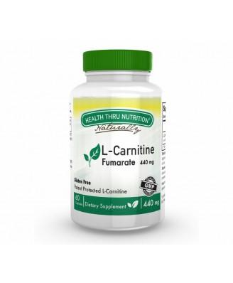 L-Carnitine 440 mg (60 Capsules) - Health Thru Nutrition