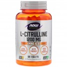 L-Citrulline - Extra Strength 1.200 mg (120 tablets) - Now Foods
