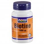 Biotine 1000 ?g (100 capsules) - Now Foods