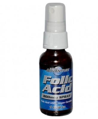 Folic Acid 800 mcg Spray (30 ml) - Pure Advantage