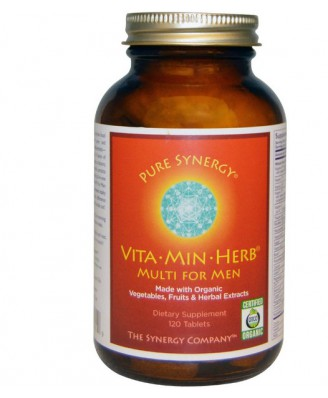 Vita·Min·Herb Multi for Men (120 Tablets) - The Synergy Company